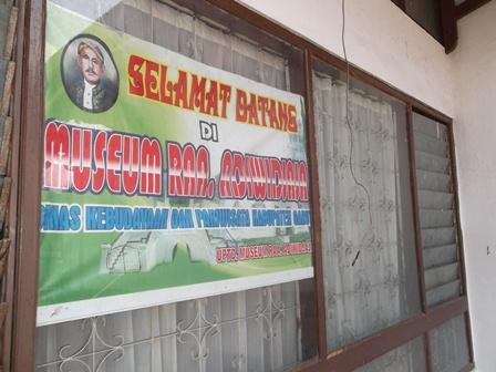 Kondisi Sarana Museum di Garut, Sangat Menyedihkan.