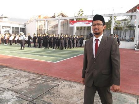 Wakil Bupati Garut, dr H. Helmi Budiman Juga Hadiri Upacara di Lapas Garut.