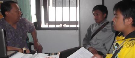 Rofiq Azhar Mengutamakan Proses Dialogis Dengan Kalangan Mahasiswa.