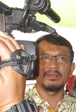 Hdelmi Budiman Kecewa, Katanya. (Foto : John Doddy Hidayat).