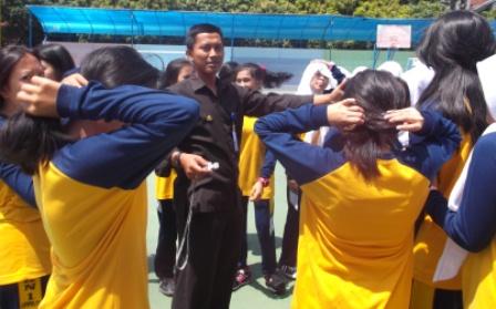 Drs Heri Wahyudinto, Selenggarakan Kegiatan Praktek Olahraga.