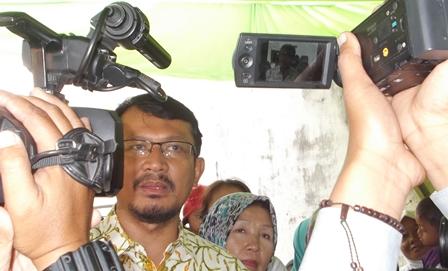 Wakil Bupati Garut Mendukung Penuh Kampung Sarleuleus Menjadi Kampung Lingkungan.