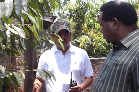 Agus dari Protokol Kementerian Lingkungan Hidup Jelaskan Pertumbuhan Kayu Gaharu.