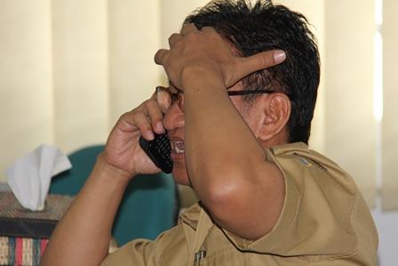 Kepala Bappeda Garut, Widiana. (Foto : John Doddy Hidayat).