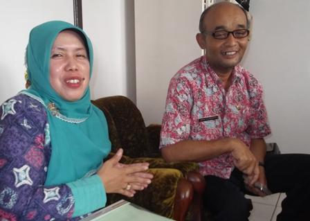 Iwan Suhendar bersama Yeti Heryati.