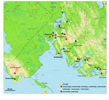 Cakupan wilayah ekspedisi Lengguru. (Lengguru.org).