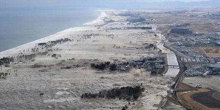 Pesisir barat Aceh yang tersapu tsunami pada 26 Desember 2004. ( Dok Kompas.com/AP ).