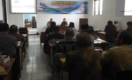 Rakor Forum Komite Sekolah Kecamatan Se-Kabupaten Garut.