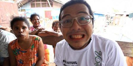 Tradisi nyirih di Papua. (Arsip Kompas TV).