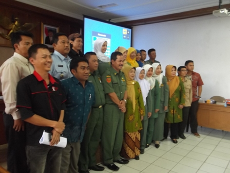 Rakor/Lobi Eksekutif Upaya Penanggulangan Tb Paru, Senin (15/12-2014).