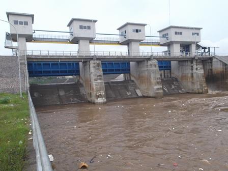 Kanal Pembungan Air Bendung Copong.