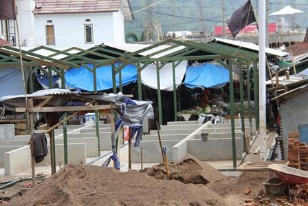 PKL Pasar Malangbong. (Foto : John Doddy Hidayat).