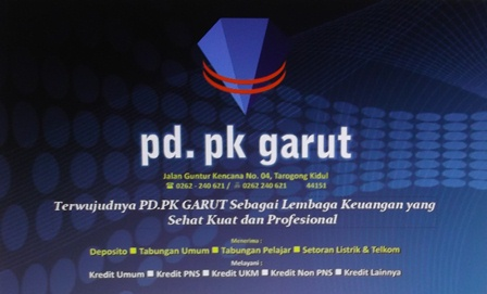 Inilah PD.PK Garut.