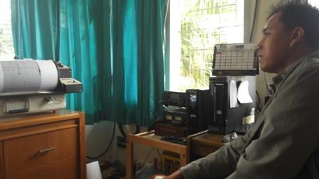 Pos Pengamatan Gunungapi Papandayan.