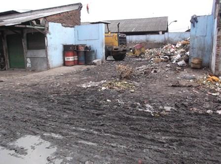 TPS yang Kerap Masih Menyisakan Tumpukan Sampah Busuk.