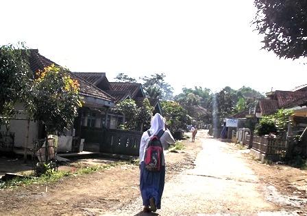 Wajah Kampung Cikurantung.