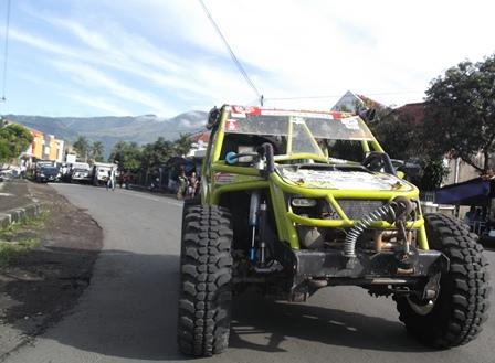 Salah-Satu Peserta Dengan Kendaraan Modivikasinya Bernilai Rp90 Juta,-