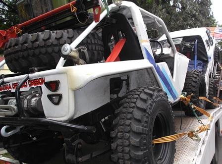 """Persiapan menjelang  """"Ulin Bareng Garut 202 Adventure Offroad 2015″ ke wilayah selatan Garut."""