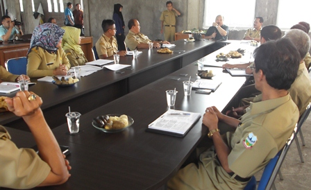 Berdialog Dengan Jajaran Badan Ketahanan Pangan Kabupaten Garut.