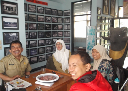Inilah Para Pengelola Museum R.A.A Adiwidjaja.