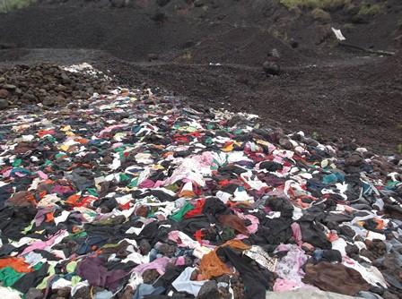 Inilah Limbah Kulit di Kaki Gunungapi Guntur. (Foto: John Doddy Hidayat).