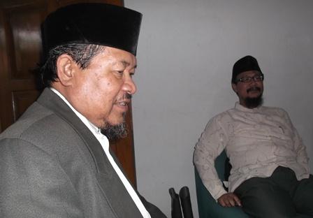 Bersama Salah Satu Unsur Pimpinan MUI Kabupaten Garut.