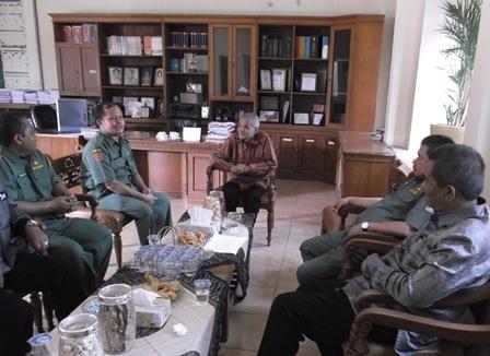 Pemantauan UN di SMAN 6 Garut, Juga Dihadiri Jajaran Dewan Pendidikan Kabupaten.