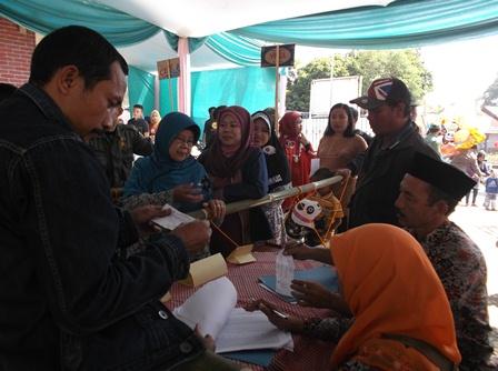 Proses Pendaftaran Calon Pemilh.