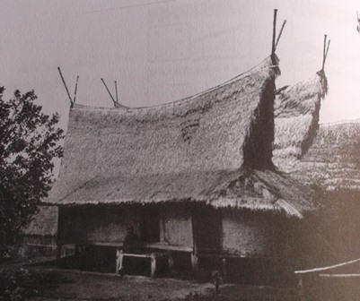 Ilustrasi Kontruksi Julang Ngapak Wanaraja Garut (1921), Diadopsi Kampus Utama ITB. (Ist/ Foto Repro : John Doddy Hidayat).