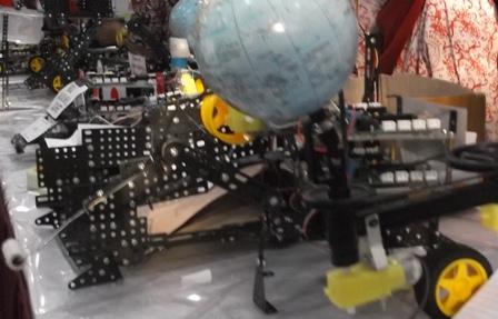 Produk Prakarya Rekayasa Robot.