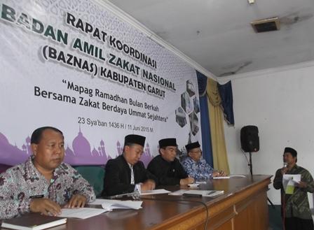 Rapat Koordinasi Baznas Kabupaten Garut.