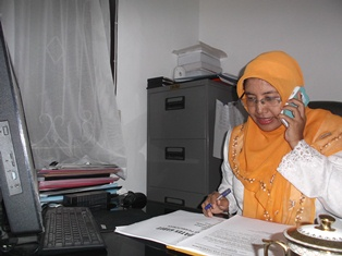 Sekretaris Distarkim Kabupaten Garut. (JDH).