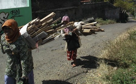 Inilah Wajah Kemiskinan di Garut, Jawa Barat. (Foto: John Doddy Hidayat).