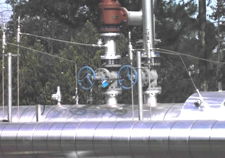 Jaringan Perpipaan Energi Geothermal Kamojang.