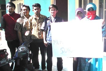 Aksi Damai Mahasiswa Garut.