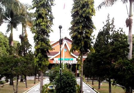 Gedung Pendopo Kabupaten. (Foto: John Doddy Hidayat).