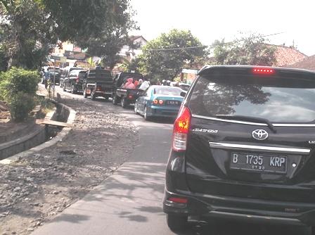 Antrian Panjang Kemacetan.