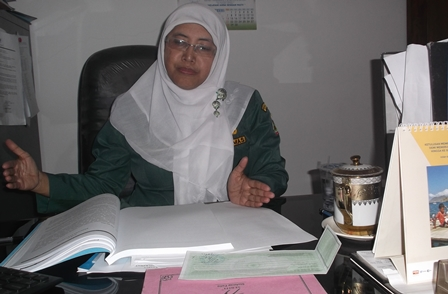 Sekretaris Distarkim Kabupaten Garut, Ir. Luna Aprianti, M.Si