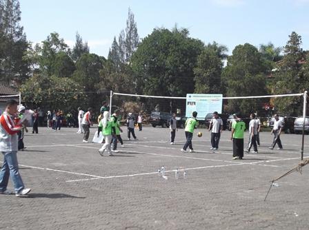 Turnamen di Lingkungan Pemkab Garut.