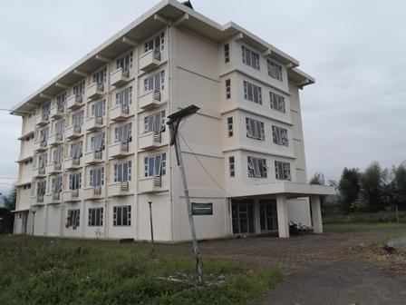 Rumah Susun Sewa Mahasiswa di Garut, yang Belum Maksimal Dimanfaatkan Sesuai Peruntukan.