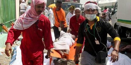 Lebih dari sejuta jemaah haji dari luar Saudi Arabia datang ke Mekah untuk menunaikan ibadah haji setiap tahunnya. (AFP).