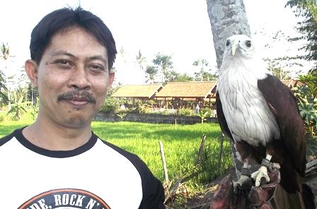 Rudy Arifin Juga Bersahabat Dengan Elang.