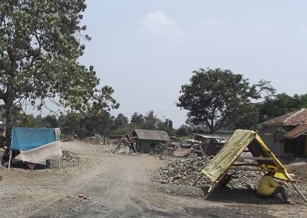 Kampung Cimacan Garut, Jawa Barat.