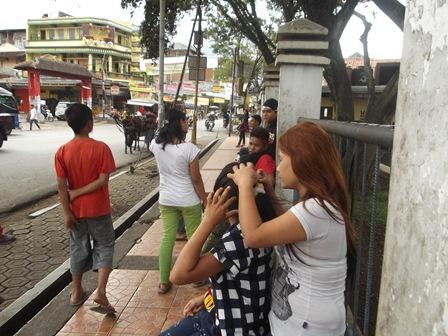 Ilustrasi Anak Jalanan di Garut.