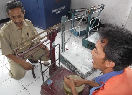 Jalinan Komunikasi Petugas dengan Pedagang Pasar Guntur.
