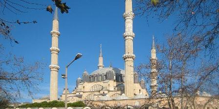 Masjid Selimiye, mutiara dari Edirne, Turki dibangun antara 1568-1574 oleh Sultan Selim II.