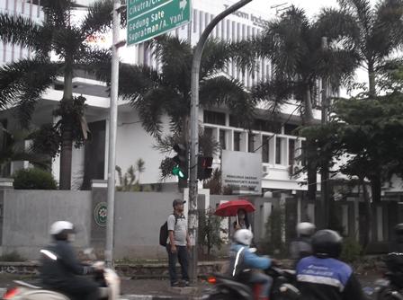 Gedung Pengadilan Tipikor Bandung.