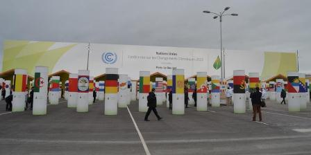 Lokasi COP 21, Le Bourget, Paris, Prancis. (Kompas.com/Firmansyah).