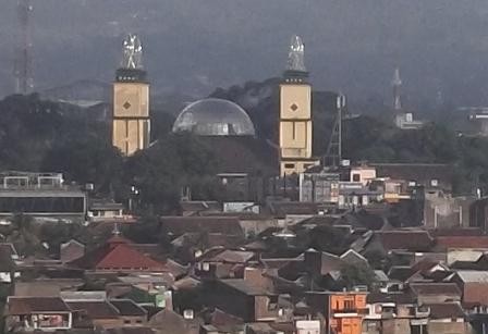 Pusat Kota Garut. (JDH).