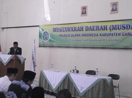 Musda MUI Kabupaten Garut 2016.